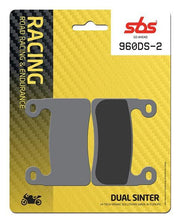 SBS Brake Pads (2 Cards-Enough for Both Front Calipers)