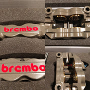 Brembo Racing P4. 32/36 Monoblock Calipers (Pair-NO PADS INCLUDED)