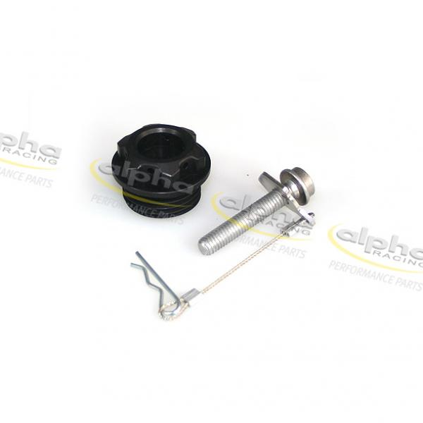 Alpha Racing Oil Filler Plug with Tether BMW S1000RR (All Years)