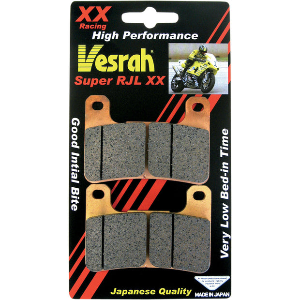 Vesrah Racing Brake Pads (2 cards-enough for both front calipers)
