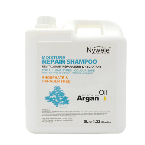 Nywele Keratin Infused Moisturizing Repair Shampoo - 5L Backbar