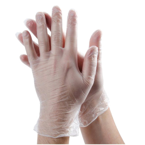 INF Powder Free Disposable Vinyl Gloves