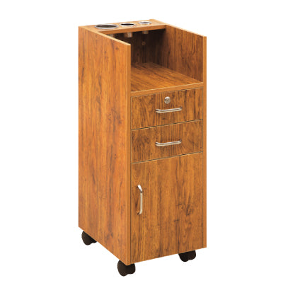 Wooden Salon Styling Trolley