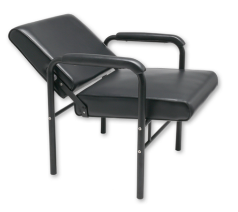 """LOTUS"" Auto-Recline Shampoo Chair with Black Frame"