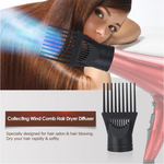 INF Hair Dryer Diffuser Nozzle Comb
