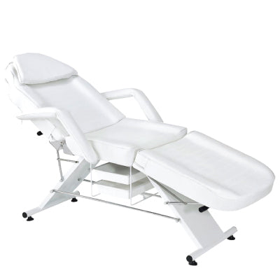 """AYESHA"" White Facial Bed"
