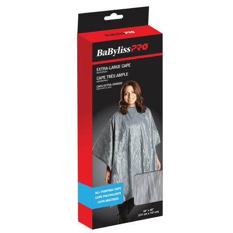 BaByliss Pro Deluxe Extra Large All Purpose Cape - Black