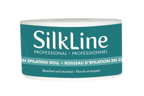 "DannyCo Silkline Bleached Cotton Epilating Roll 2.5"" x 120'"