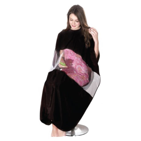 X-Large Barbers / Hairdressing Cape with Transparent Viewing Window