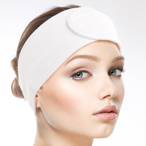 1Pair Adjustable Spa Headband with Velcro