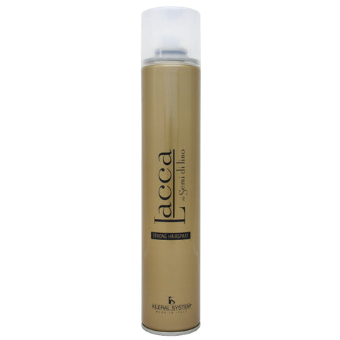 KLERAL SYSTEM Strong Hairspray with flax extract Lacca - 500ml