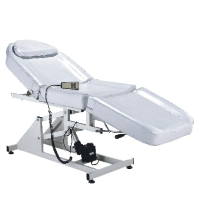 """MEHA"" White Electric Aesthetic Bed with Motor"