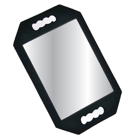 Hand Held Foam Padded Unbreakable Mirror - Large