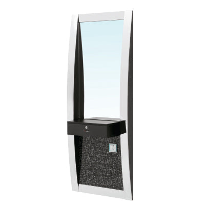 """PALAZZO"" Styling Mirror Station with Counter/Drawer"