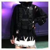Men Women Chest Bag