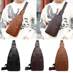 Men Genuine Leather Crossbody Bags