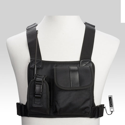 Baofeng Radio Chest Front Pack