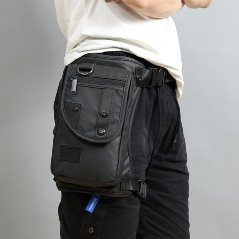 Men Waterproof Leg Bag (Motorcycle)