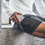 Men's 2 in 1 Sport Shorts (Security Pockets)