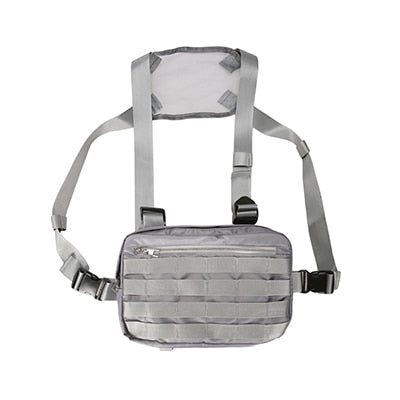Men Chest Rig Bags Adjustable