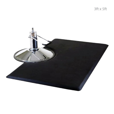 Rectangle Anti Fatigue Mat with Chair Impression 3ft x 5ft