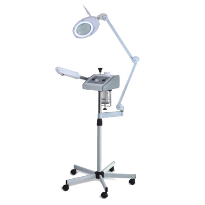 Professional Salon Facial Steamer w/ Magnifying Lamp