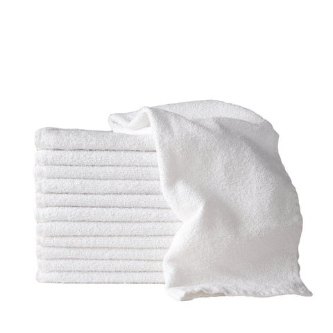 White Salon Towels - 1 dozen per pack