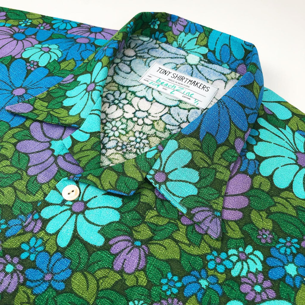 Psychedelic Floral Camp Shirt (beachZine Limited Edition) 1/1