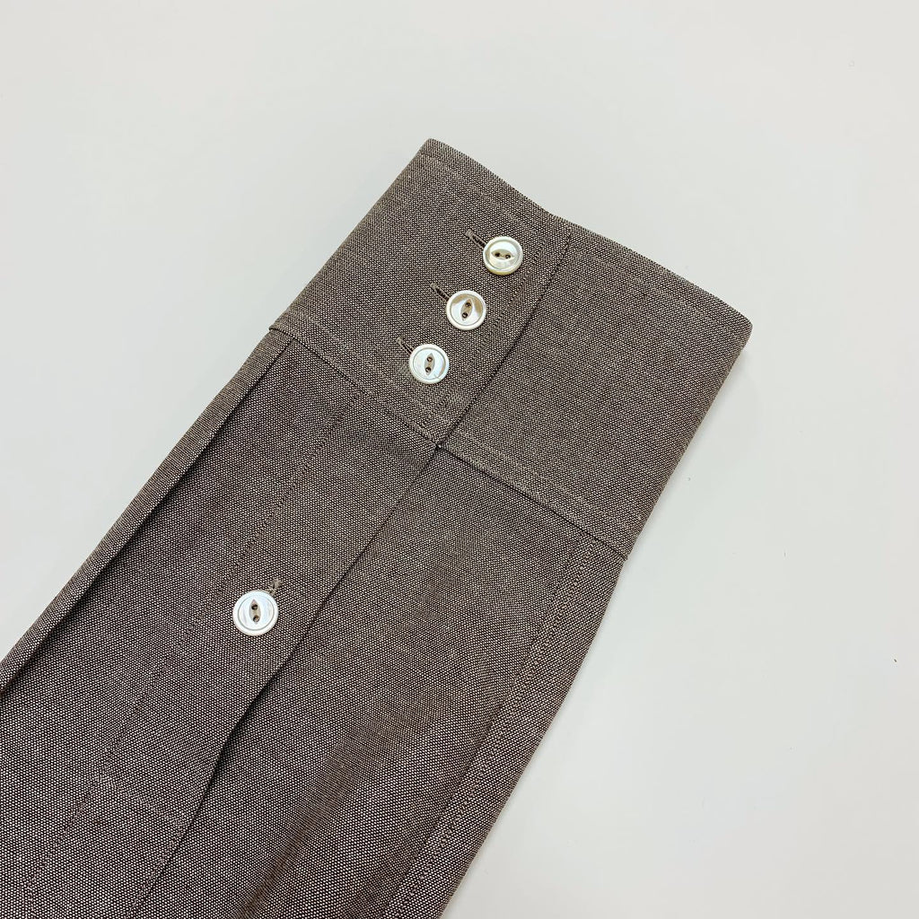 Japanese Brown Chambray Western