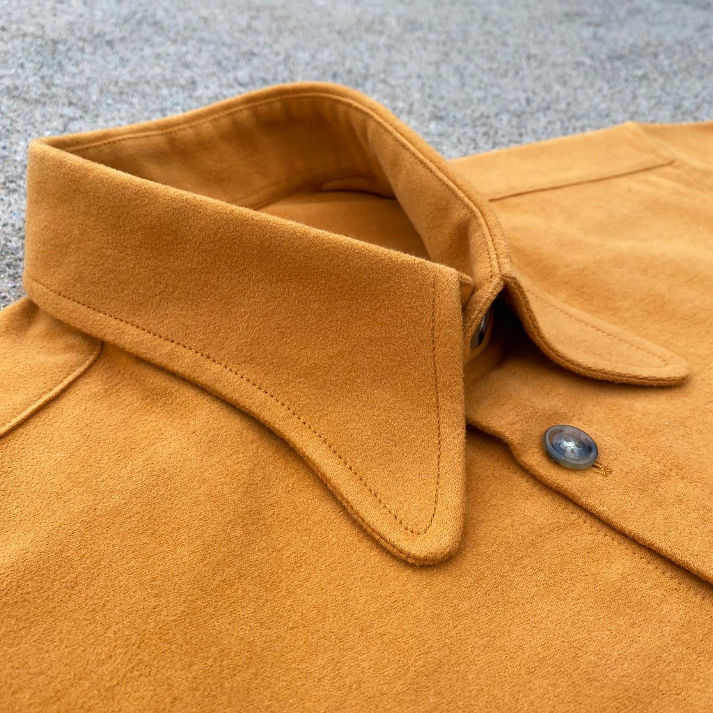 Arrow Pocket Cotton Moleskin Ochre