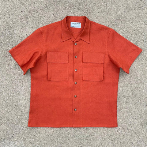 Blood Orange BDU Camp Shirt