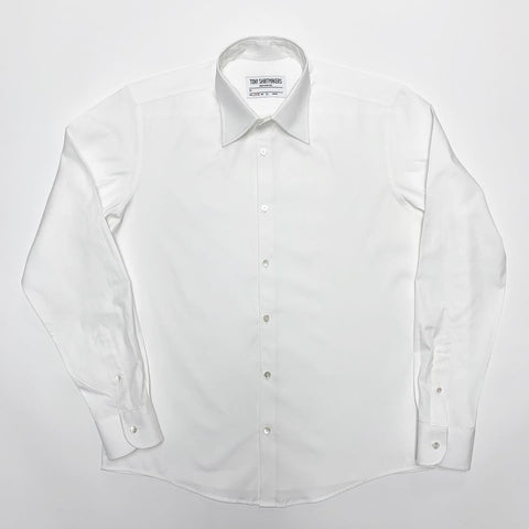 Bright White Pinpoint Oxford Formal Shirt