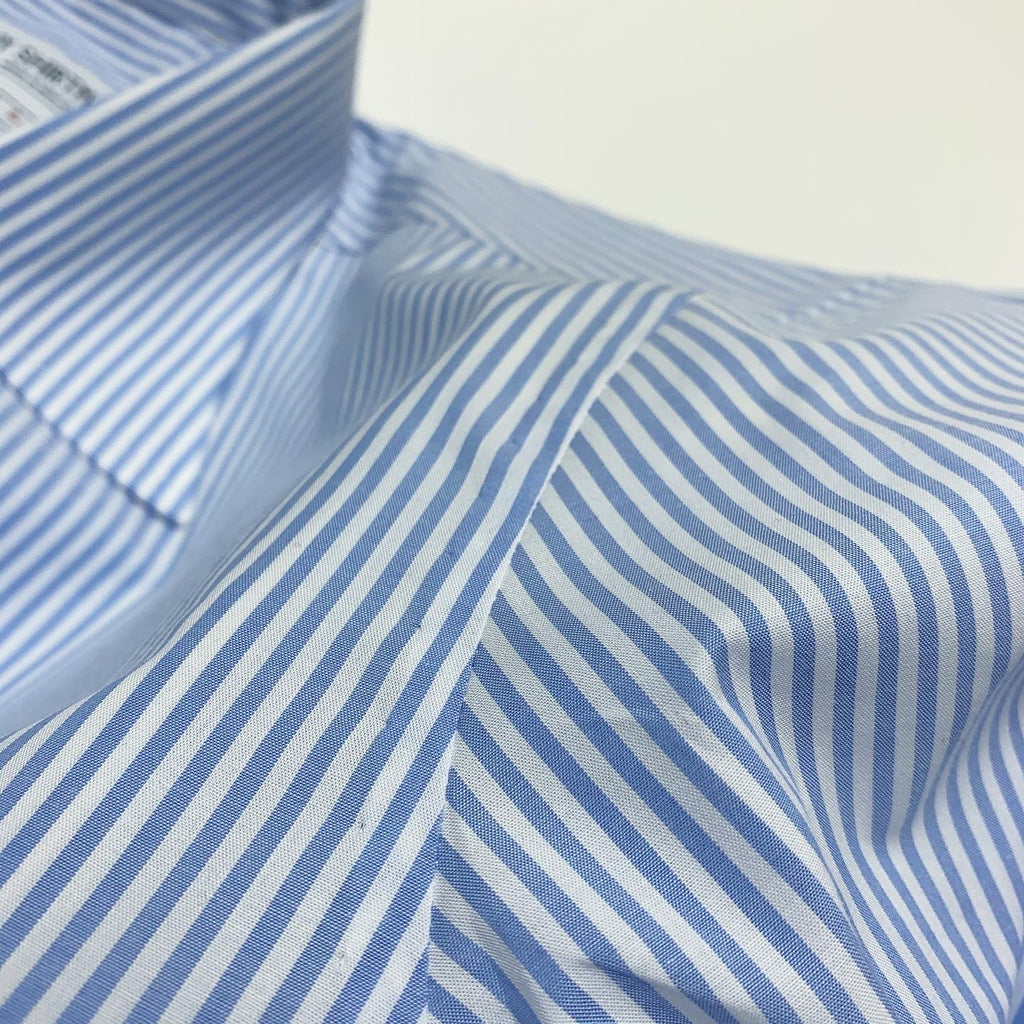 Zenith Stripe Blue and White Formal Shirt