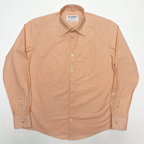 Zenith Stripe Orange and White Formal Shirt (1/1)