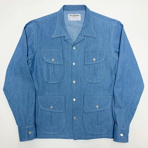Light Wash American Denim Safari Shirt (1/1)