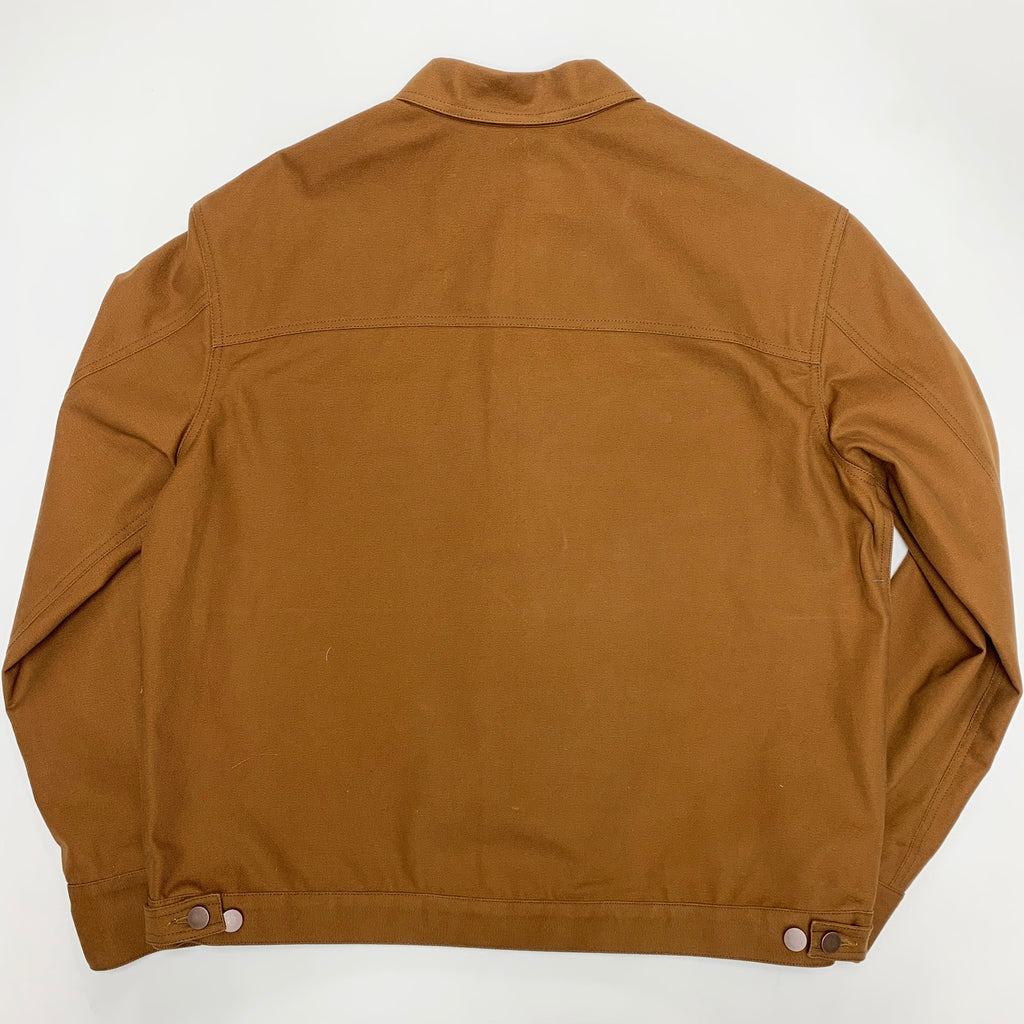 Russet Trucker Jacket Brushed 12oz Japanese Duck
