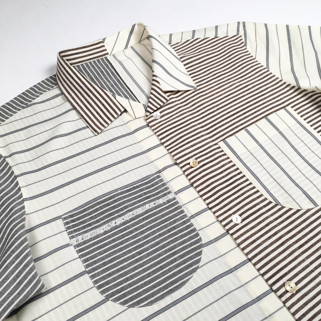 The Multi-Stripe Beach Shirt (One-Of-One)
