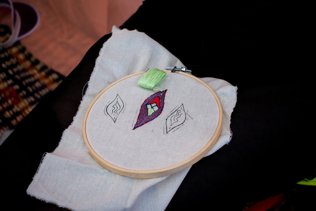 embroidery kit for beginners embroidery hop and thread