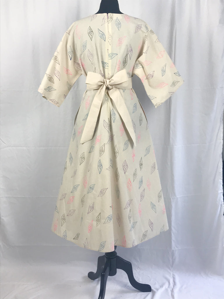 Kimono Style Viva la Vulva Pattern Dress {sample}