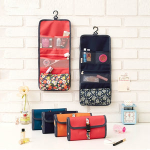 Hanging Toiletries Travel Organizer