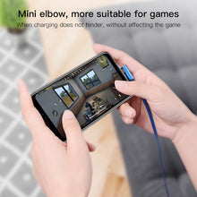Load image into Gallery viewer, 2 Meter long Micro USB Cable with 90 for Android, Samsung Phone Charger Cable