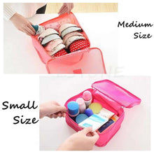 Load image into Gallery viewer, 6 Storage Organizer Pouches  - 3 cubes, 3 pouches