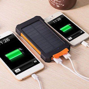 Solar External Battery Charger - 30000mAh