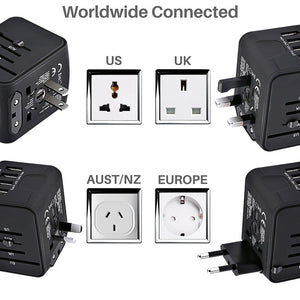 All-in-one Travel Adapter International Universal Power Adapter