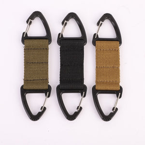 Double-ended Carabiner Clip