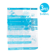 Load image into Gallery viewer, Set of 3 Vacuum One-Way-Valve Compression Bags