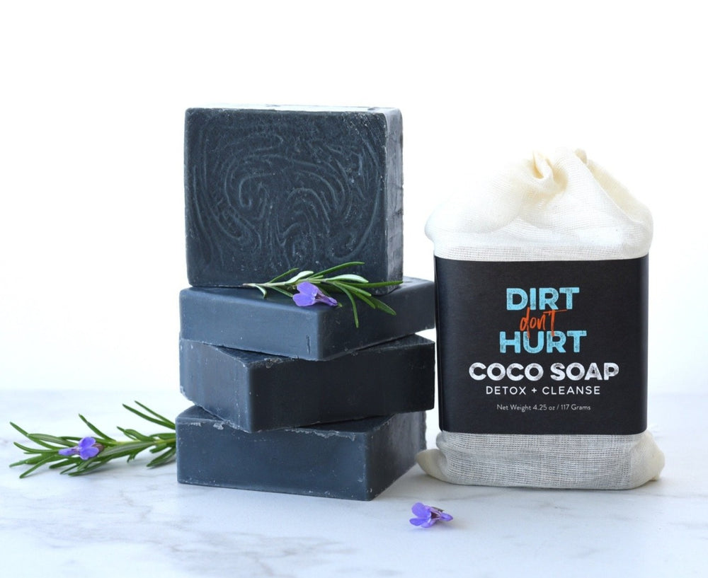 Detox + Cleanse Charcoal Body Soap