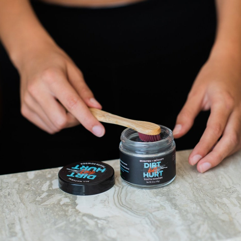 All-Natural Activated Charcoal Tooth Powder