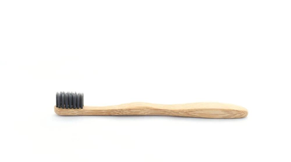 Toothbrush (Bamboo) with Charcoal Infused Bristles (Kids)