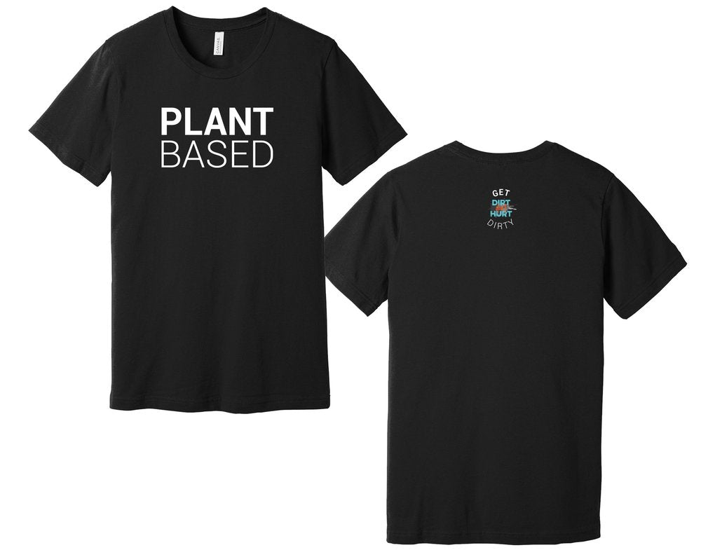 Plant Based Cute Vegan Tshirt